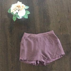 Naked Zebra purple shorts